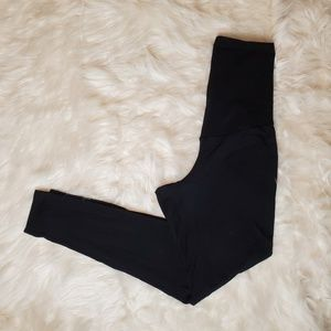 A PEA IN THE POD BLACK LEGGINGS SZ SMALL